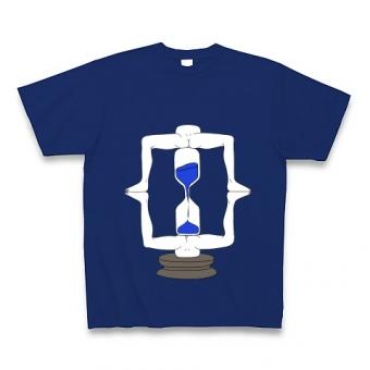 脚フレーム砂時計 Tシャツ