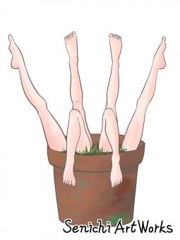 植木鉢シリーズ03