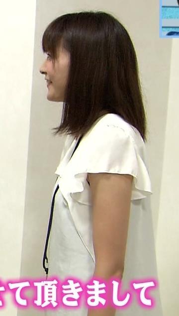 久冨慶子 横乳