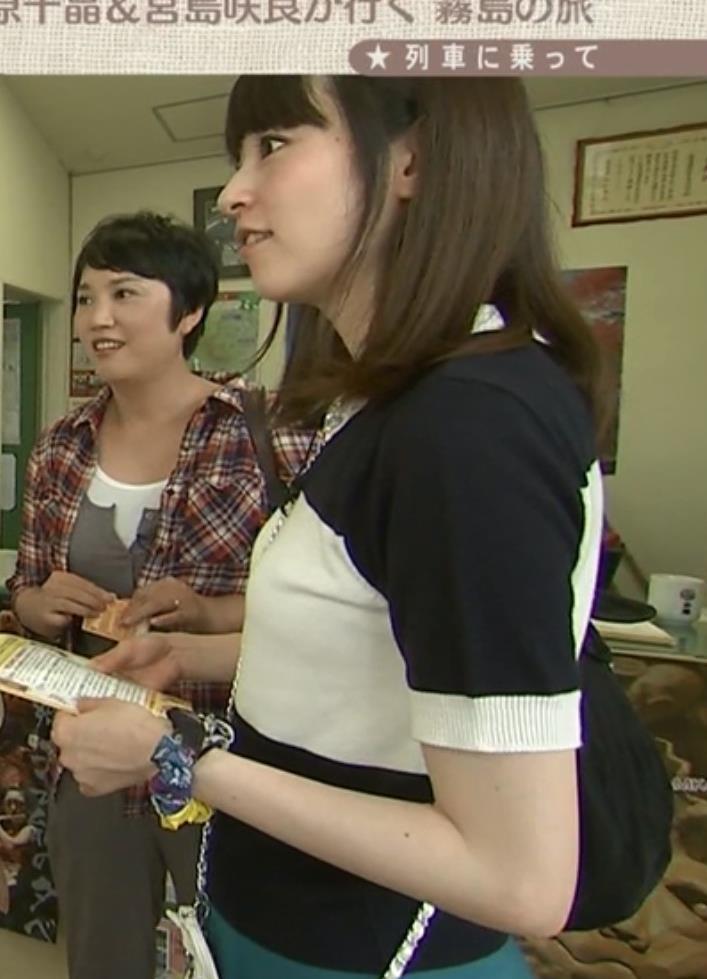宮島咲良 おっぱいキャプ・エロ画像2