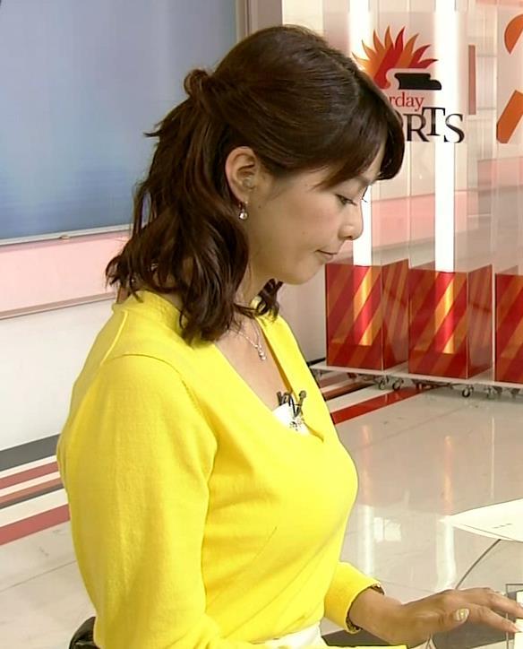 杉浦友紀 横乳キャプ・エロ画像