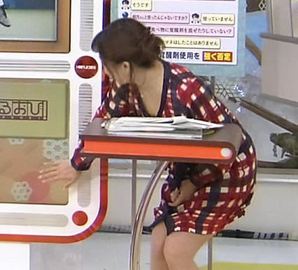 江藤愛 胸ちらキャプ・エロ画像2