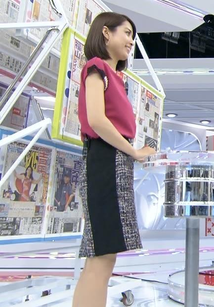 佐藤渚 横乳 (あさチャン!20140913)