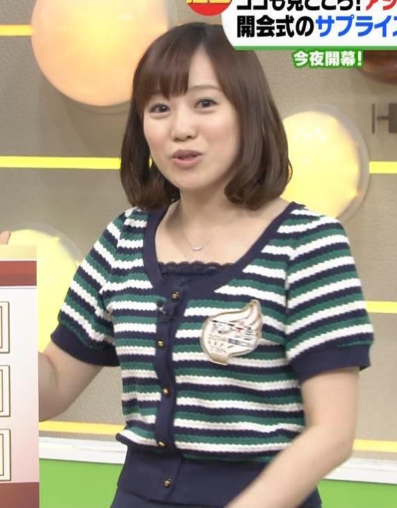 江藤愛 横乳キャプ・エロ画像2