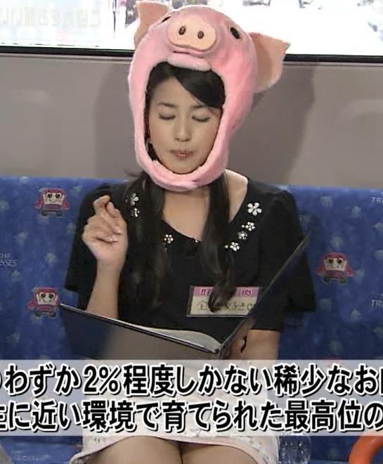 永島優美 太ももキャプ・エロ画像5