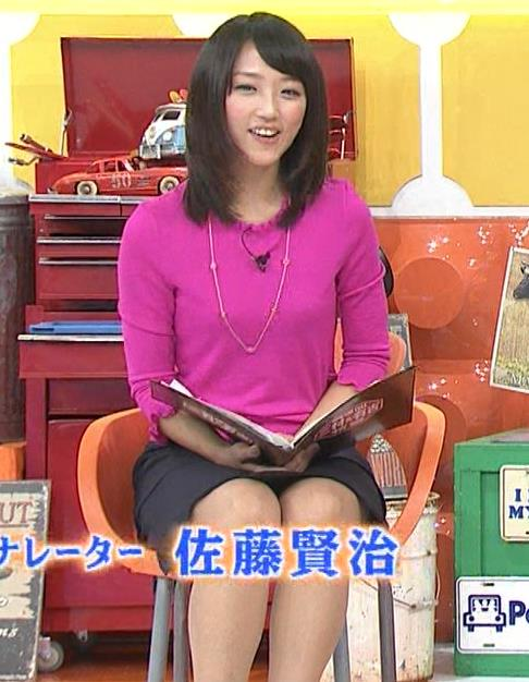 竹内由恵 ミニスカートキャプ・エロ画像7
