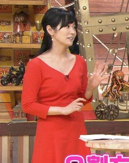 高島彩 胸ちらキャプ・エロ画像2