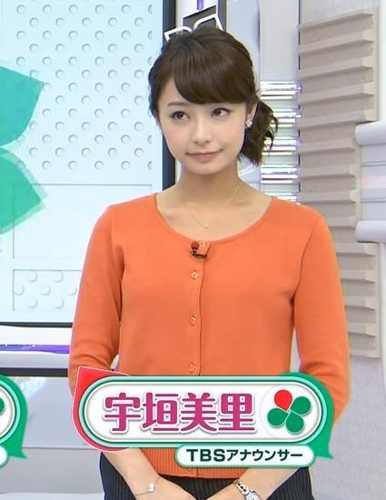 宇垣美里 TBSのカワイイ新人アナキャプ・エロ画像4