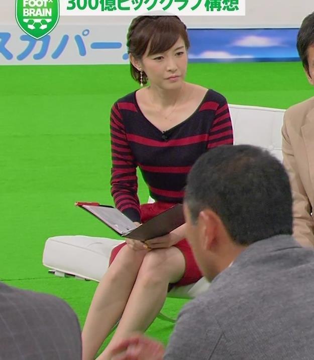 杉崎美香 ミニスカート画像