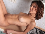 筋肉質なロシア美女 Nude 5