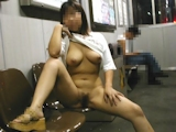 巨乳女性 野外露出ヌード画像 2