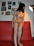 中国美巨乳美人女子大生 ヌード画像 10