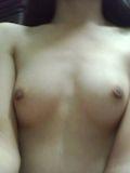 微乳女性 自分撮りヌード画像 7