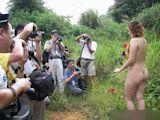 中国野外ヌード撮影会 5