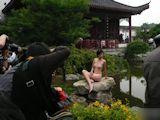 中国野外ヌード撮影会 11