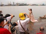 中国野外ヌード撮影会 12