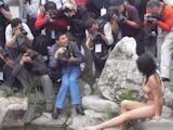中国野外ヌード撮影会 16