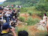 中国野外ヌード撮影会 18