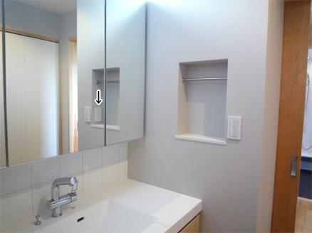洗面室41