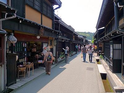飛騨高山の古い町並