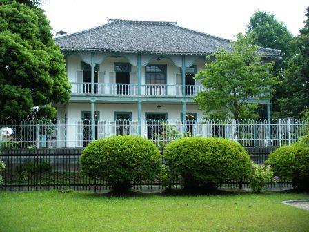 熊本洋学校教師ジェーンズ邸