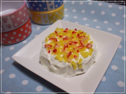 さつま芋とヨーグルトのケーキ♪