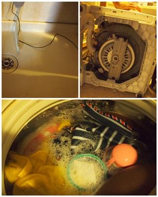 洗濯機復活~♪