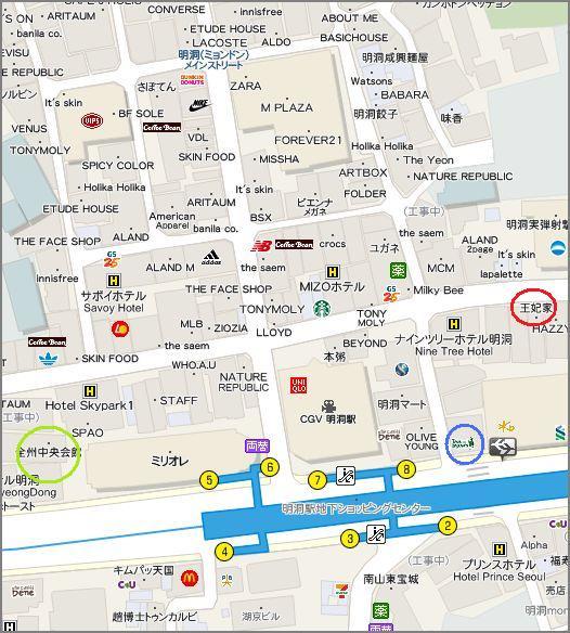 王妃家の地図1