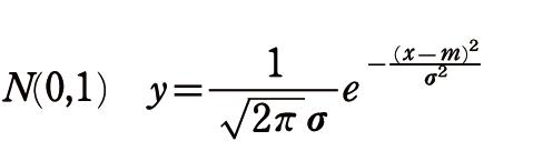 確率密度関数2