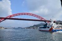 渡船から見た第二音戸大橋