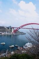 第二音戸大橋と渡船