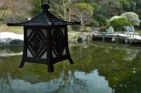 潮見亭の吊り灯篭
