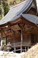 領家八幡神社本殿