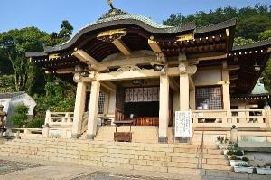 沼名前神社 拝殿