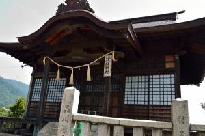 淀媛神社 拝殿