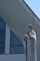サビエル像(ルッジェリ神父作)