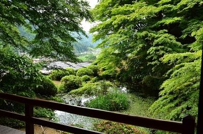 吉水亭からの眺め