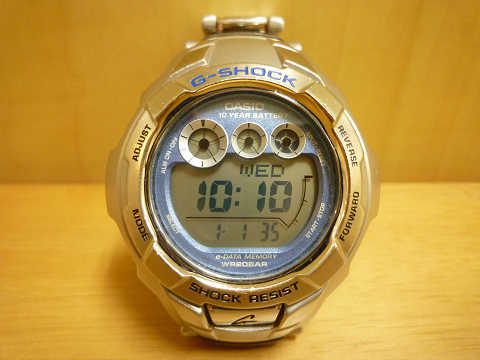 G-SHOCK(Gショック)電池交換 防水検査