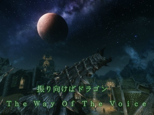 The Way Of The Voice-竜と月