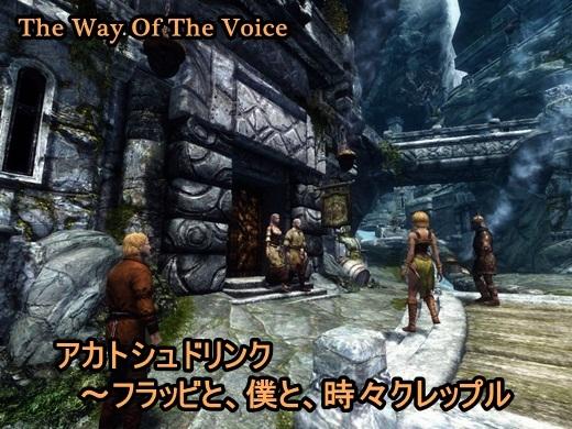 The Way Of The Voice-決して時々じゃないクレップル出現率