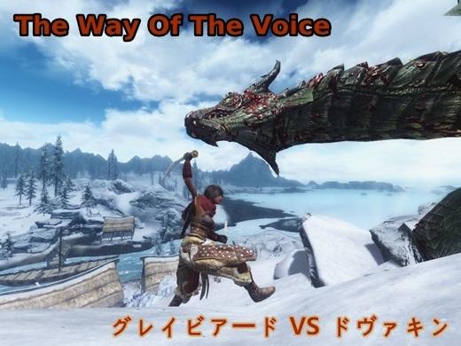 The Way Of The Voice-グレイビアードVSドヴァキン