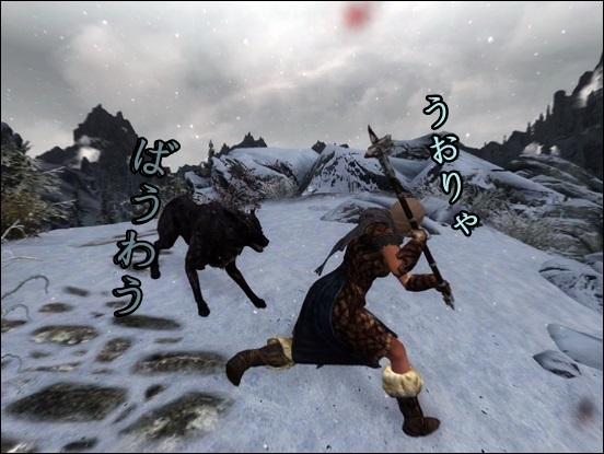 オオカミ戦