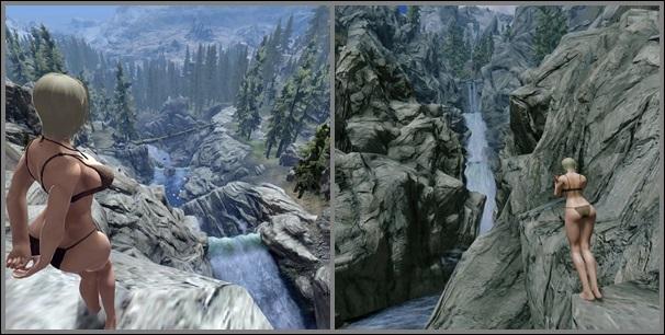 倒木橋峡谷2