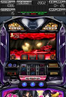 パチスロバジリスク3絆アプリプレイ画面・エレコ最新スロットバジリスク3絆アプリ