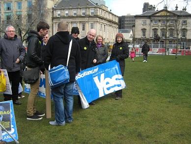 スコットランド独立派の草の根運動