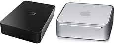 Western Digital HDD & MacMini