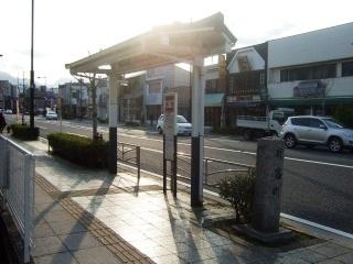 浜町バス停_H22.03.22撮影