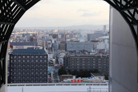 京都駅の南側_H26.02.09撮影