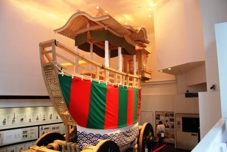 展示中の大船鉾_H26.02.09撮影