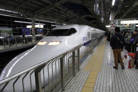 こだま678号東京行_H26.02.09撮影